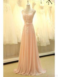 Real Made Appliques Long Prom Dress Evening Dress E57