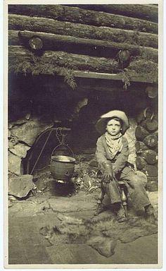 Little cowboy 1800's
