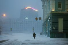 Christophe Jacrot, Russian Winter, Night Walkers, Film Story, Matte Painting, Movie Photo, Cold Day, Color Photography, Dark Art