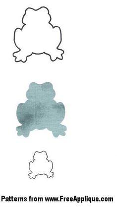Animal Stencils For Quilting : rana verde para colorear - Buscar con Google Repujado ( Ranas ) Pinterest Frogs ...