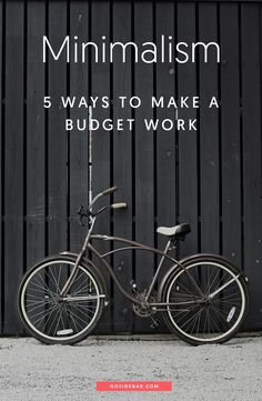 Here are five key methods to recognizing the power of a minimalist budget and how it can have a positive effect on your savings.