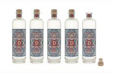 Alcohol bottle branding