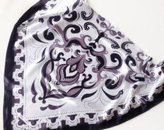Black Paisley scarf, Gift for Boss, Chemo Cover up, Bulk buy Gift, Pocket Scarf, Holiday Gift, Coworker gift Mens Neck scarf Black scarves by blingscarves. Explore more products on http://blingscarves.etsy.com