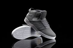 "The cool grey treatment on the Skytop III ""Cool"" imparts a light and soothing quality to this dynamic silhouette."