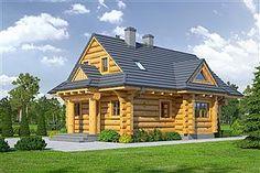 Projekt domu D03 Grześ drewniany 84,66 m2 - koszt budowy 76 tys. zł - EXTRADOM Gazebo, Bali, Outdoor Structures, House Styles, Home Decor, Projects, Kiosk, Decoration Home, Room Decor