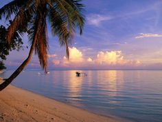 World's most beautiful beaches    Matira Beach, Bora Bora, French Polynesia    #Travel #Beaches