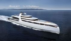Behold the Admiral X-Force 145, an uber-luxury mega-yacht with helipads, cinemas and spa