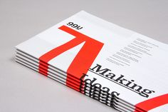 Editorial Design Inspiration: 99U Magazine