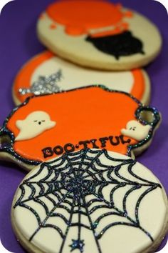 #Halloween #Cookies via #TheCookieCutterCompany
