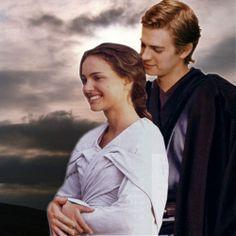 Anakin Skywalker et Padmé Amidala