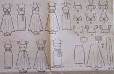 How+To+Draw+Dress+Patterns | how to make a dress pattern: images photos  Third one second row