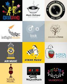 музыкальные логотипы