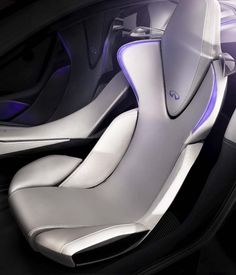 Infiniti (Nissan) all-electric sports concept.