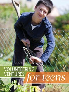 Volunteering Ventures for Teens | Grown Ups Magazine - Tailor volunteering to your teen's interests and turn obligation into opportunity