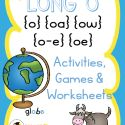 Are you teaching your students how to read and spell long o words? Here you'll find fun and engaging, hands-on activities, games and worksheets. First Grade Reading, Kids Reading, O Words, Hands On Activities, Spelling, Worksheets, Lol, Student, Teaching