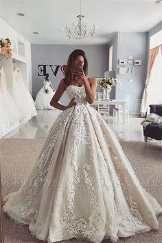 Hochzeit Kleid Formell Brautjungfernkleid Spitze Weiß Strand Sommerkleid