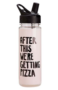 'After This, We're Getting Pizza' Water Bottle