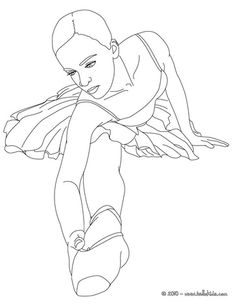 dancer coloring pages teens - photo#15