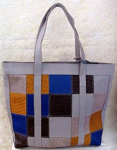 Large multi-coloured handcrafted leather purse Leather Purses, Messenger Bag, Satchel, Stuff To Buy, Bags, Color, Handbags, Leather Handbags, Colour