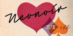 Neonoir (30% discount, from 17,49€)