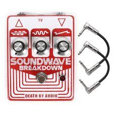 Death by Audio Soundwave Breakdown Fuzz Distortion