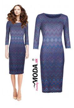 Úpletové šaty FV54 Dresses For Work, Fashion, Moda, Fashion Styles, Fashion Illustrations
