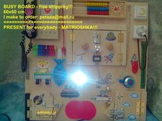 Shop for on Etsy, the place to express your creativity through the buying and selling of handmade and vintage goods. Latch Board, Busy Boards For Toddlers, Sensory Boards, Activity Board, Sensory Toys, Toddler Gifts, Educational Toys, Autism, Kids Toys