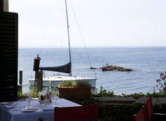 Il Ristorante si affaccia sul lago a Punta San Vigilio e offre una vista ed un atmosfera unica ai suoi ospiti. La cucina privilegia piatti tradizionali con ingredienti freschissimi della migliore qualità e propone ricette semplici ma raffinate.