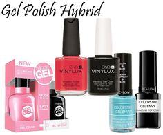 Gel Polish Hybrids via @AllLacqueredUp