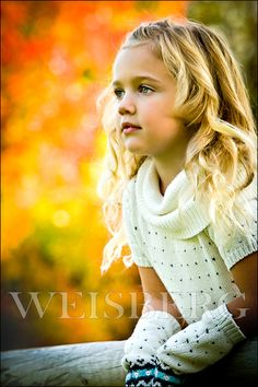 Fall colors.  Magazine style kids photography by photographer Marc Weisberg.