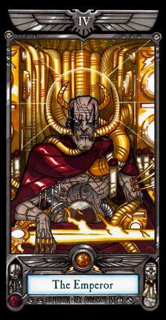 Imperial Tarot - The Emperor