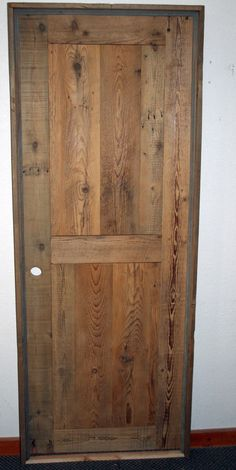 Barn Wood Interior Door Unfinished - good option with customizing and pricing pre-hung with free shipping
