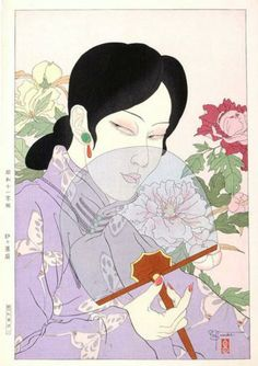Chinese Beauty - Paul Jacoulet