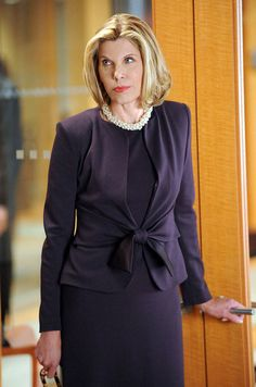 Christine Baranski – The Good Wife fashion Diva.