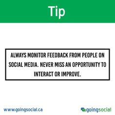 On Social, people have all the power to say whatever they want about your company and brand, positive or negative. Regardless of the feedback, not monitoring your social media audience is a missed opportunity.