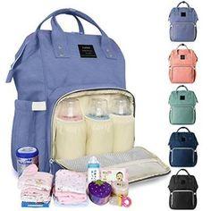 58de2452968b Baby Diaper Bag Maternity Women Backpack Rucksack Mummy Travel Stroller  Hang Bag