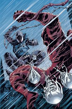 Ben Reilly vs. Kaine - Scarlet Spiders