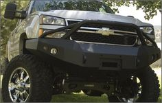 Chevy Silverados lifted with bumer guards - Google Search