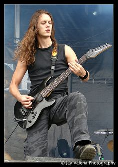 guitarist and with long hair! <3 #longhair #hot