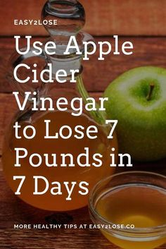 Weight Loss goals are incomplete without Apple Cider Vinegar. Some Good Facts about Apple cider vinegar for weight loss up to 7 pounds in 7 Days. Weight Loss goals are incomplete without Apple Cider Vinegar. Some Good Facts ab…! Apple Coder Vinegar, Apple Cider Vinegar Pills, Apple Cider Vinegar Benefits, Apple Vinegar, Cider Vinegar Weightloss, Acv Weightloss, Vinegar Diet, Vinegar Weight Loss, Apple Cider Vinegar For Weight Loss