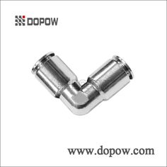 CAPV Union Elbow Connectors Full Nickel Plated Brass Pneumatic Fittings