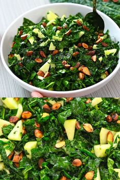 Salad Recipes Healthy Lunch, Best Salad Recipes, Easy Healthy Recipes, Mexican Food Recipes, Keto Recipes, Vegetarian Recipes, Healthy Eating, Cooking Recipes, Recipes With Kale