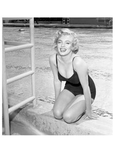 James Dashwood  Marilyn Monroe by Pool