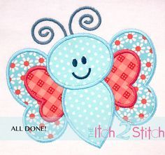 How 2 Stitch a Multiple Fabric Applique Design By: The Itch 2 Stitch