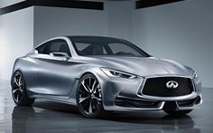 Infiniti reveals the new Q60 concept before the Detroit Motor Show. The new concept defines the next generation of Infiniti Q60 Coupe.