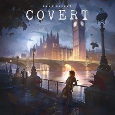 Covert | BoardGameGeek | Forthcoming 2016 | Control your network of spies, gather intel, and break codes in Covert, a game of tactical dice placement, set collection, and timing set in Cold War Europe. Players race to complete high risk Missions by deploying their agents and acquiring the necessary equipment, all while keeping an eye on the needs of future missions and the advances of rival agencies.