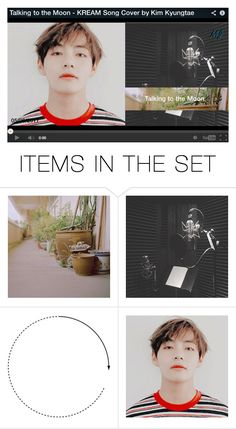 """Kim Kyungtae - Song Cover"" by mj-entertainment ❤ liked on Polyvore featuring art"