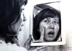 drawing - artist Hoehwarang(회화랑), South Korea #소묘 #인체소묘 #인물화 #인체 #회화랑 #회화랑미술학원 #강남입시미술 #회화 #미술 #academy #drawing #Hoehwarang