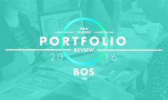 The AIGA portfolio review is open to all design students at undergraduate andMFAlevels. Here's your chance to:  Have a professional look at your portfolio Distribute your resume Practice your interview skills Receive honest feedback about your work  Sign-up is on a first come, ...