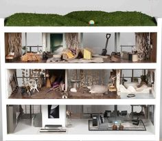 Contemporary Dollhouse   Contemporary Beach House 1 by Jeffrey Alan Marks and Elizabeth Dinkel